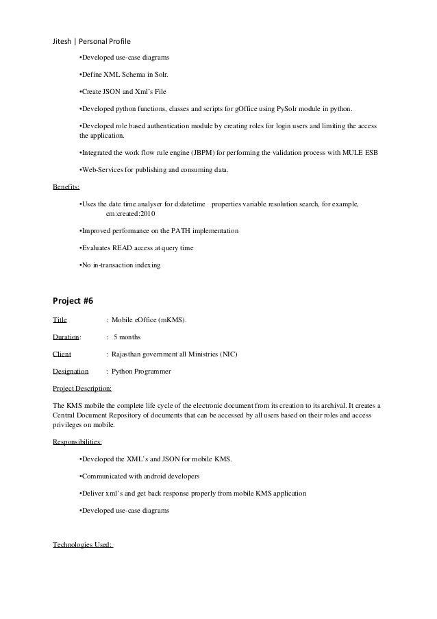 jitesh agrawal resume