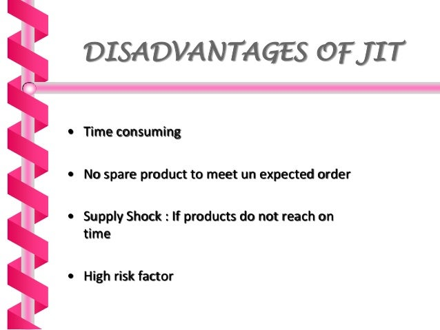 impact of just in time in manufacturing Just-in-time production (jit) can entail substantial efficiency gains at the  the  effect of jit on inventory can be twofold: first, it might reduce.