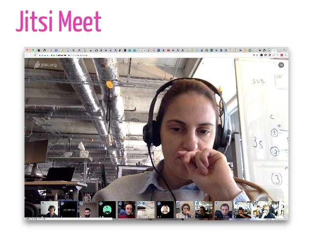 Jitsi: Open Source Video Conferencing