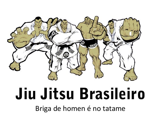 Jiu Jitsu Brasileiro Briga de homen é no tatame