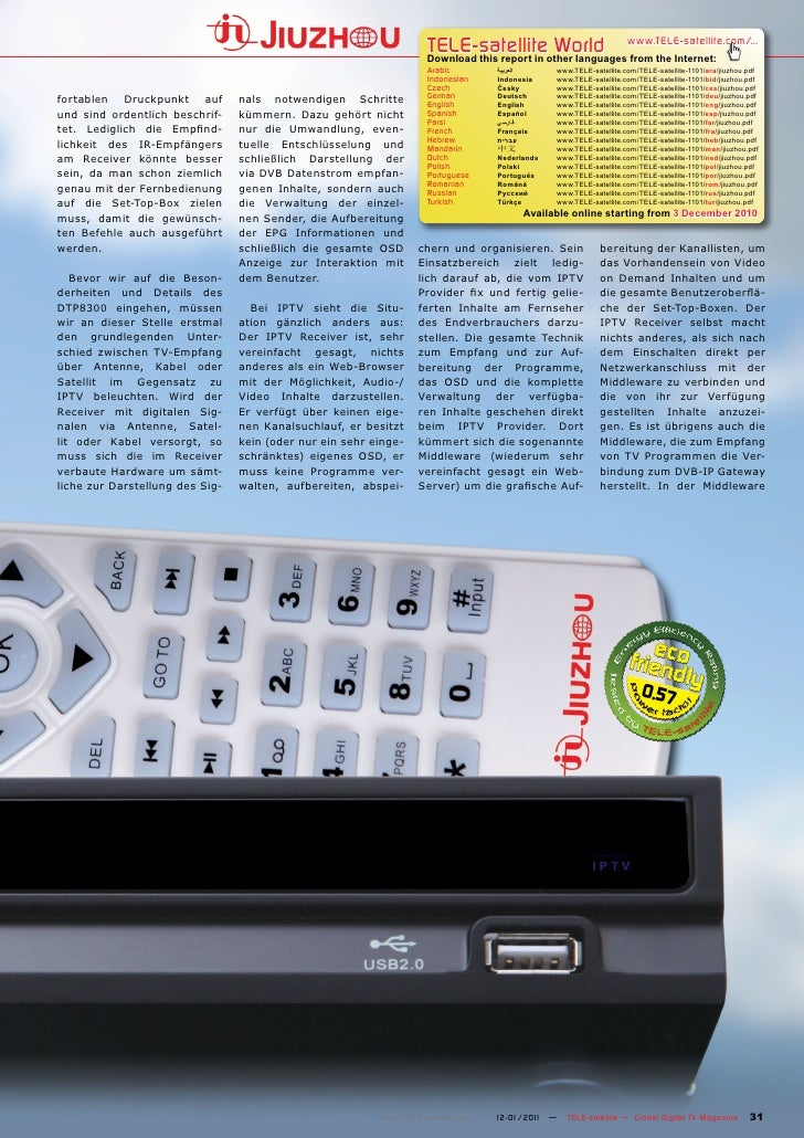TELE-satellite World                           www.TELE-satellite.com/...                                                 ...