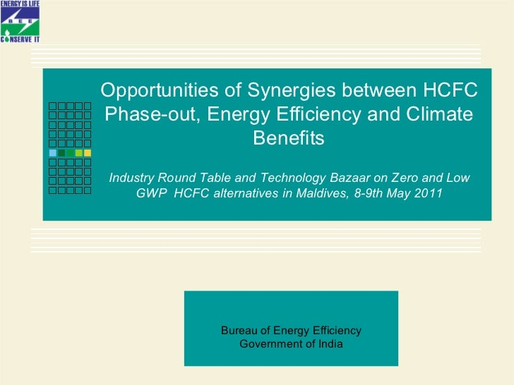 Opportunities of Synergies between HCFC Phase-out, Energy Efficiency and Climate Benefits   Industry Round Table and Techn...