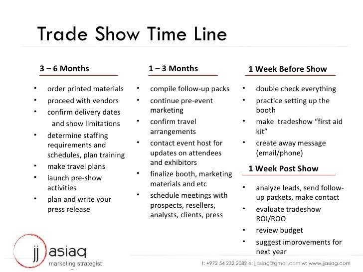 jj asiag tradeshow tool kit