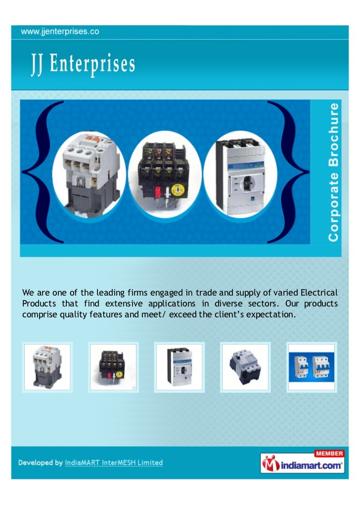 We are one of the leading firms engaged in trade and supply of varied ElectricalProducts that find extensive applications ...