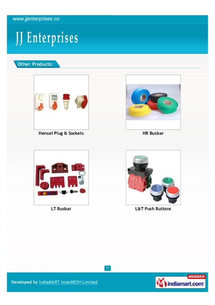 Other Products:        Hensel Plug & Sockets      HR Busbar              LT Busbar         L&T Push Buttons