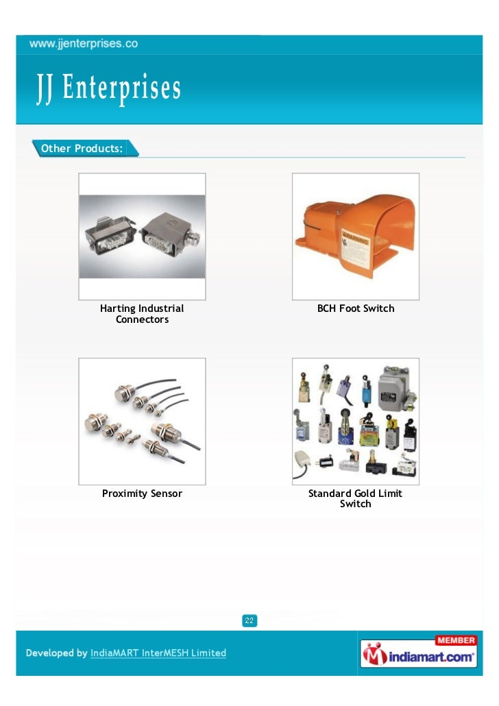 Other Products:          Harting Industrial    BCH Foot Switch             Connectors           Proximity Sensor    Standa...