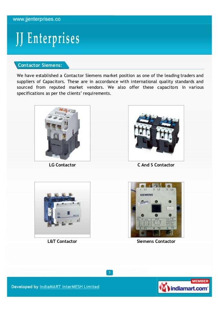 Contactor Siemens:We have established a Contactor Siemens market position as one of the leading traders andsuppliers of Ca...