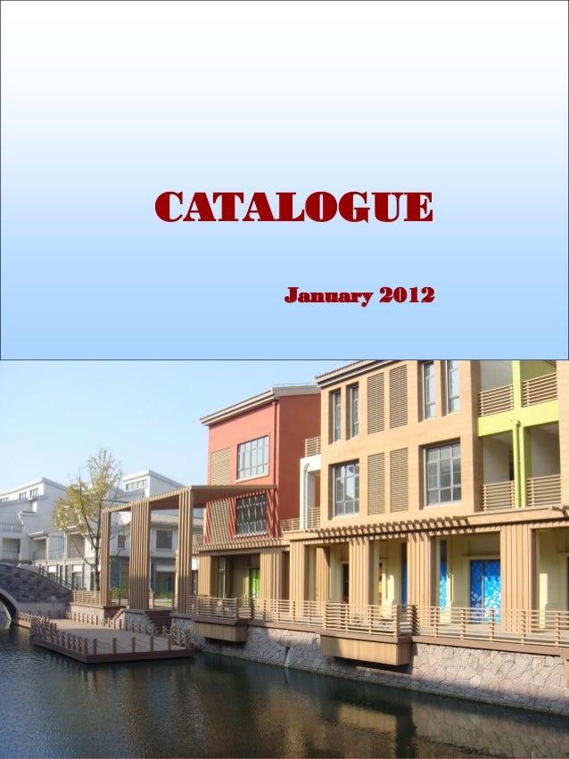 CATALOGUE January 2012
