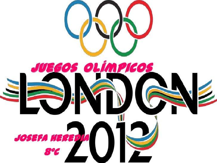 Juegos OlímpicosJosefa Heredia     8ºC