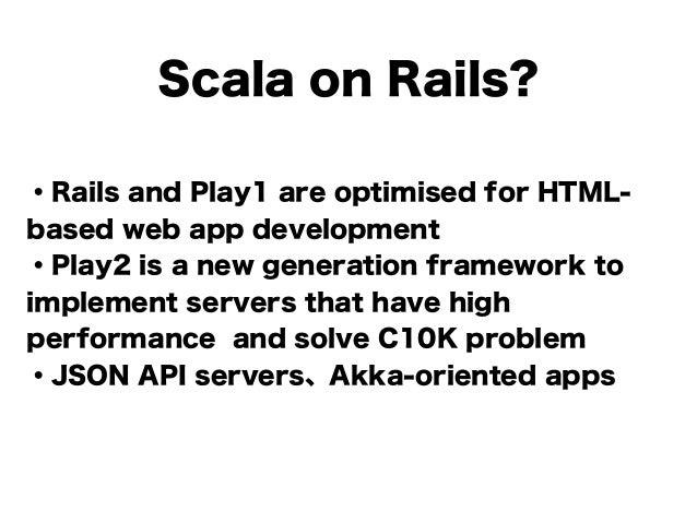 Beginning Scala with Skinny Framework #jjug_ccc