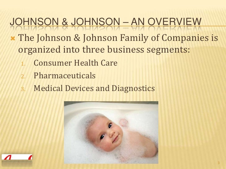 marketing objectives of johnson johnson In our marketing program,  customized career path that best suits your desired professional objectives  visit the jwu catalog: marketing (bs) career possibilities.