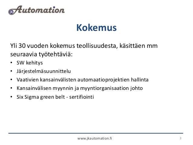 Jk automation esittely Slide 3