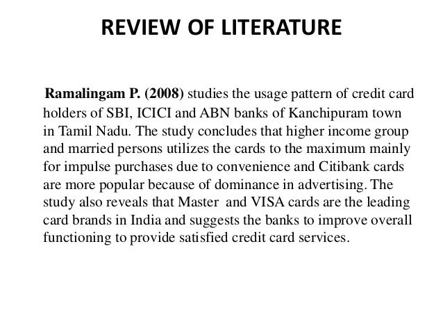 icici bank advertising literature review Deputy manager at icici bank location • extensive research about various marketing initiatives and recommendations • prepared the literature review.