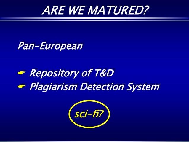 Dissertation plagiarism detection