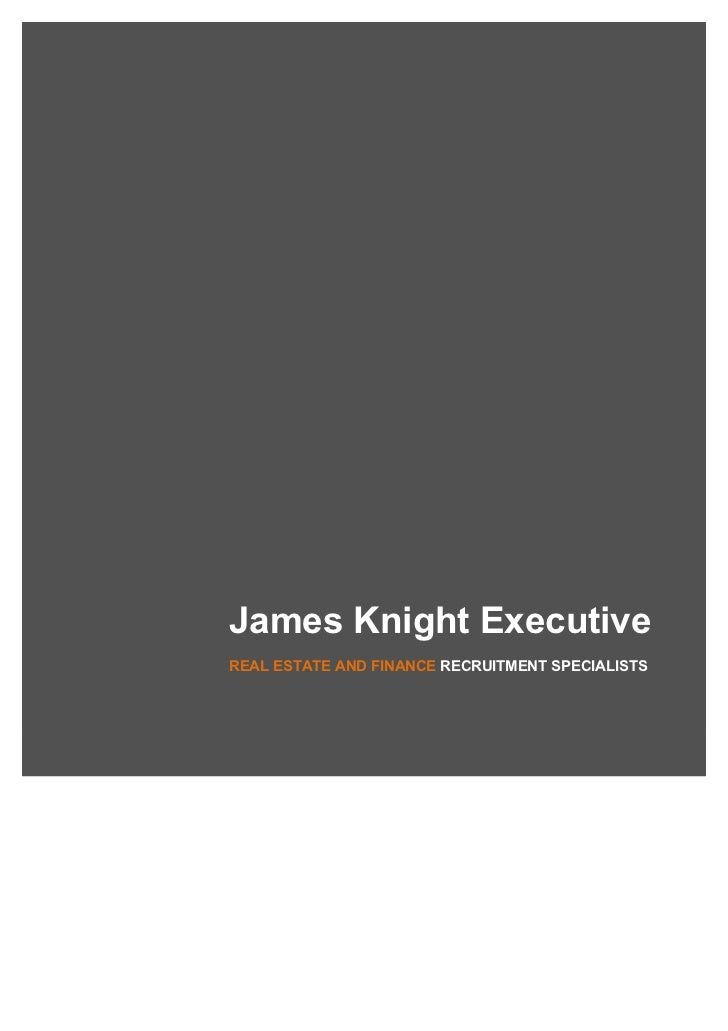 James Knight ExecutiveREAL ESTATE AND FINANCE RECRUITMENT SPECIALISTS