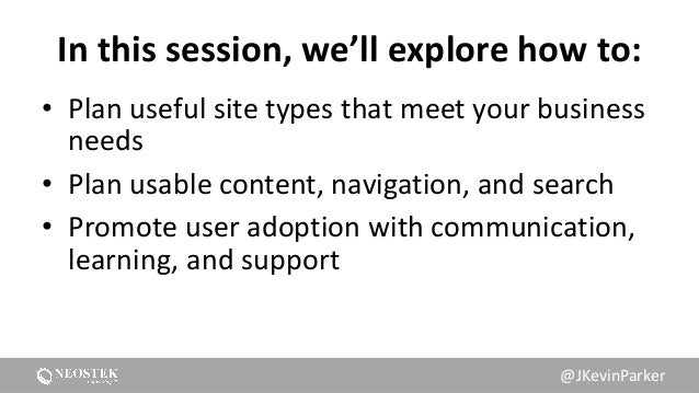 Don't Make Us Think: Getting SharePoint to be Useful, Usable, and Used Slide 3