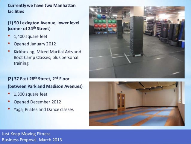 gym business plan powerpoint slides