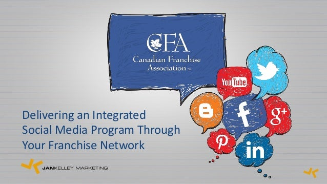 Delivering an IntegratedSocial Media Program ThroughYour Franchise Network