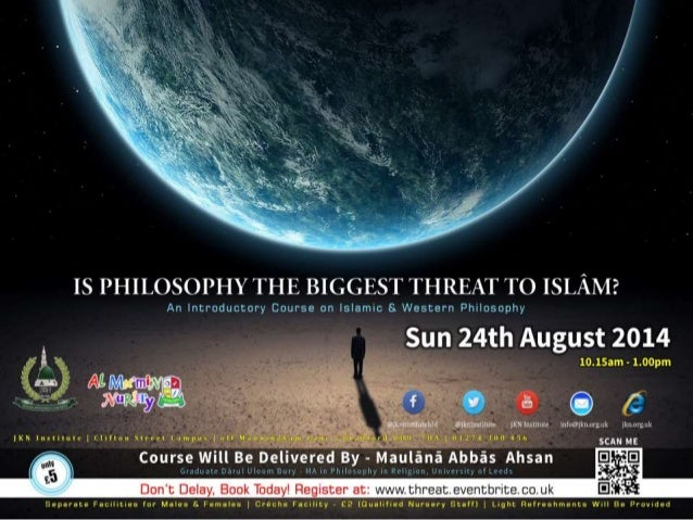 An Introductory Course On Perspectives Of Western And Islamic Philosophy