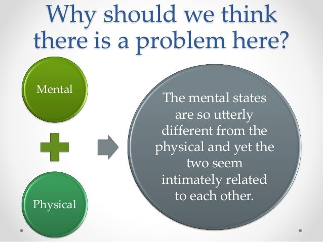 the mind brain problem concerning dualism and materialism Dualism – philosophy of religion essay  with dualism are (i) the problem of brain  mysterious questions concerning the nature of the human mind.
