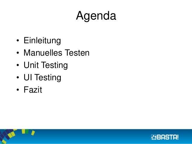 Testing XAML-based Windows Store Apps mit VS 2013 Slide 2