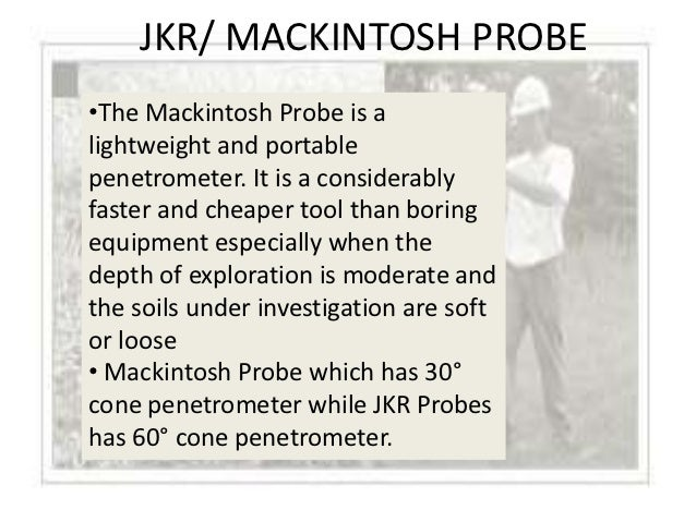 MACKINTOSH PROBE TEST PROCEDURE EPUB DOWNLOAD