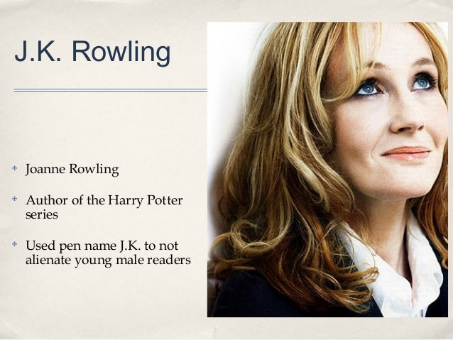 Harry potter writer name