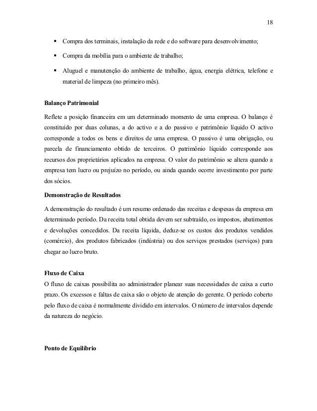 Caracteristicas das empresas plano financeiro e mercado for Plano b mobilia