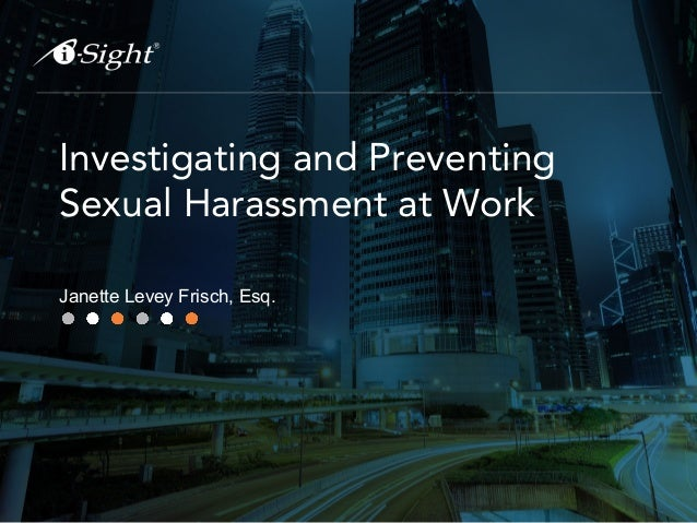 Elements of a sexual harassment claim under title vii