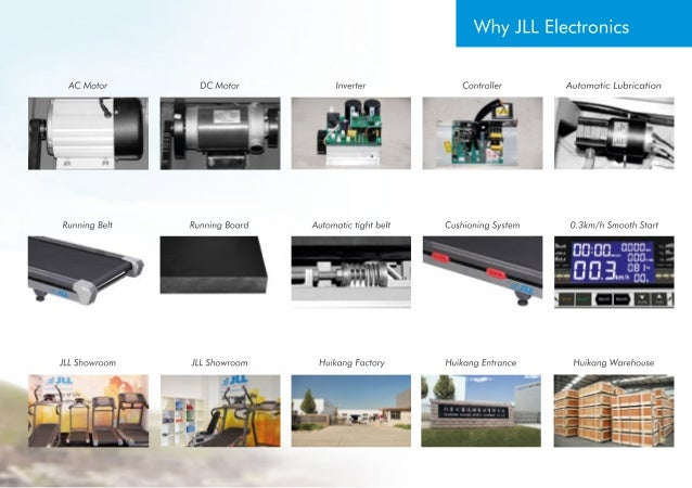 JLL Electronics 2013-2014 Fitness Motorised Home and  Commercial Treadmills Slide 3