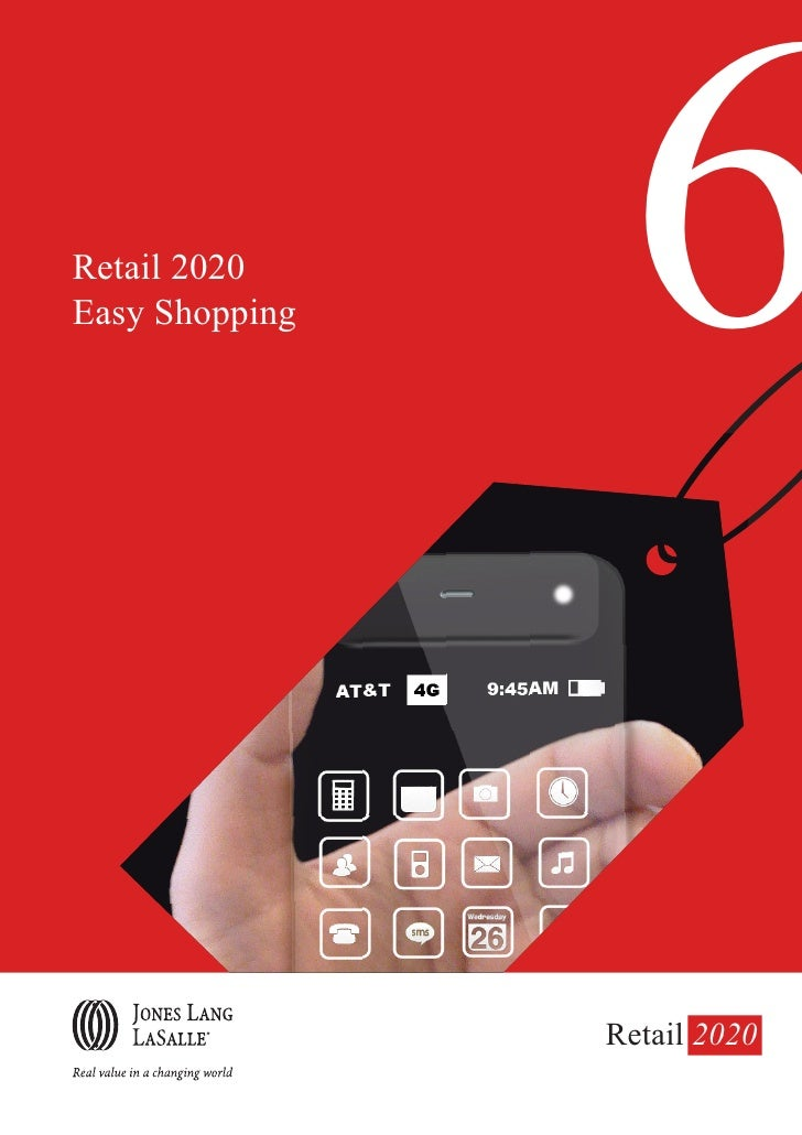 Retail 2020 Easy Shopping    6                 Retail 2020