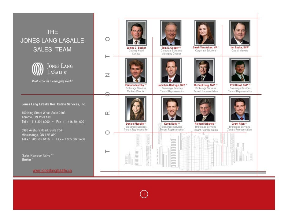 Corporate Solutions at Jones Lang LaSalle (2001)