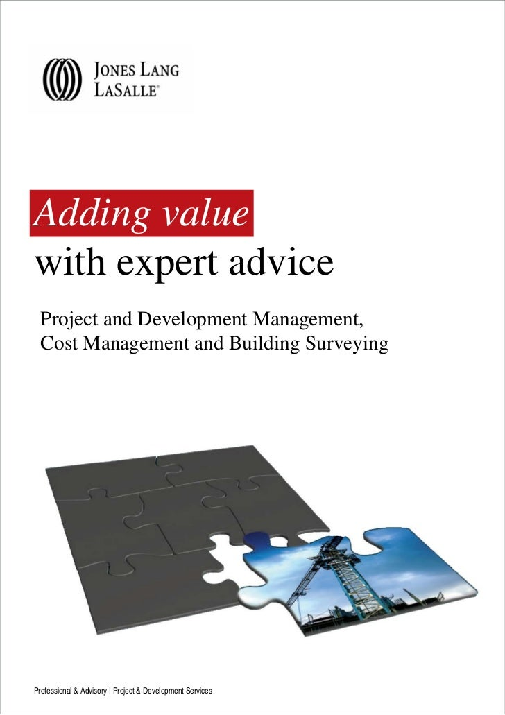 Adding valuewith expert advice  Project and Development Management,  Cost Management and Building SurveyingProfessional & ...