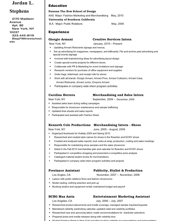 j l s resume revision march 2010