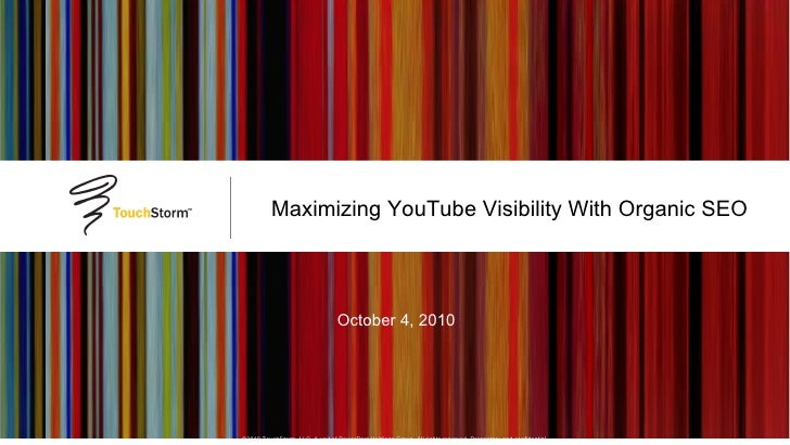 TouchStorm's Jeff Martin on YouTube Video Optimization