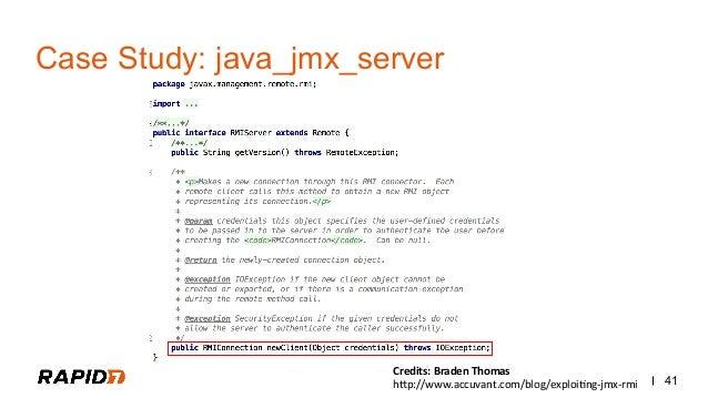 java rmi case study distributed system ppt