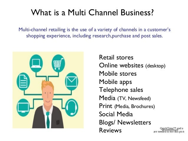 Multi channel definition e business