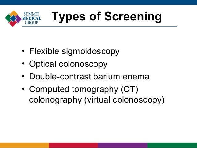 Colorectal Screening Your Best Protection Against