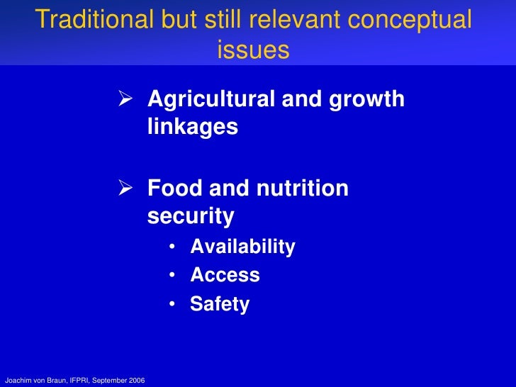 food and agricultural challenges Agriculture must respond to the challenge of feeding 9 billion people, while protecting the environment and taking care of rural societies it will be necessary to: 1 eradicate hunger and.