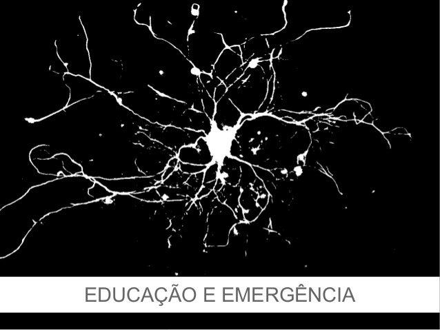 EDUCAÇÃO E EMERGÊNCIA