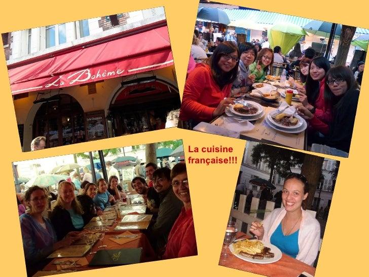 La cuisine française!!!