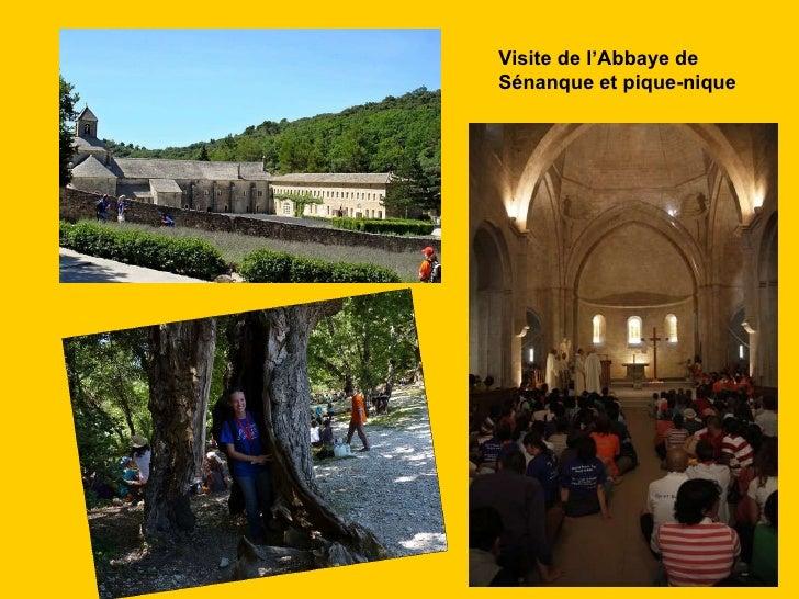 Visite de l'Abbaye de  Sénanque et pique-nique