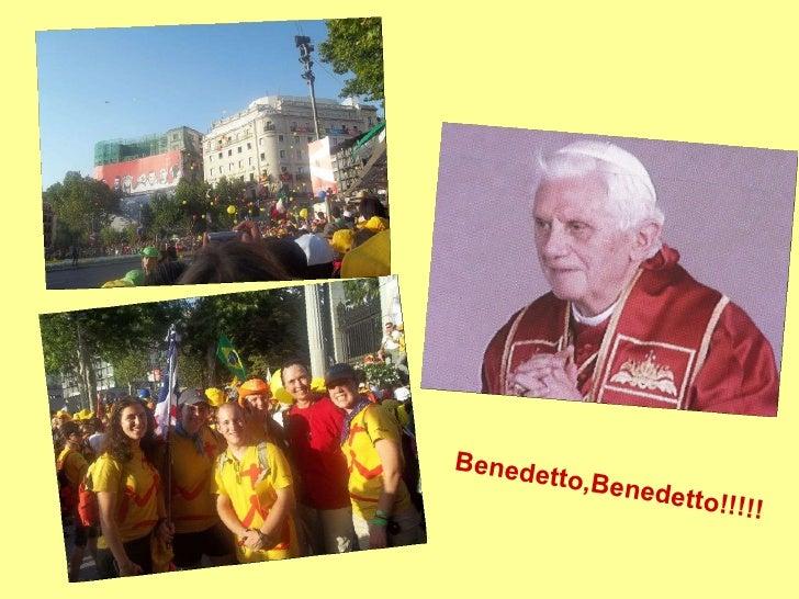 Benedetto,Benedetto!!!!!