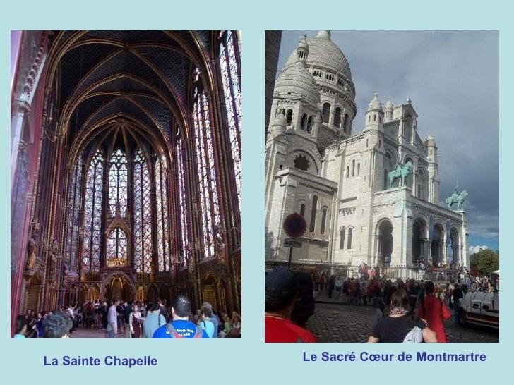 La Sainte Chapelle Le Sacré Cœur de Montmartre