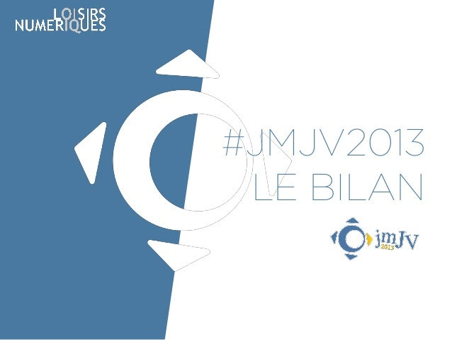 #JMJV2013 LE BILAN