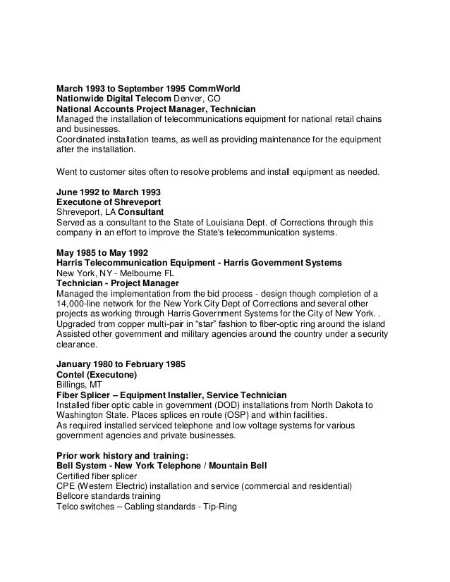 Resume Companies Denver sample cover letter for cto executive