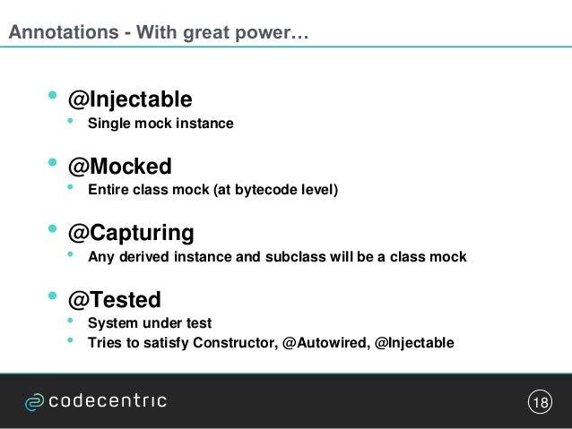 Mockito vs JMockit, battle of the mocking frameworks