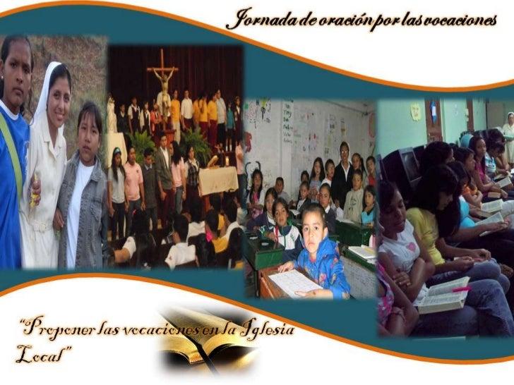 Jornada de Oración por las Vocaciones