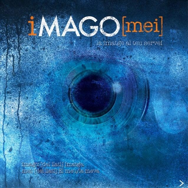imagomei@gmail.com PORTFOLIO Fotografia de events Imatge • Fotografia • Retoc fotogràfic • Simulació de producte • Il·lust...