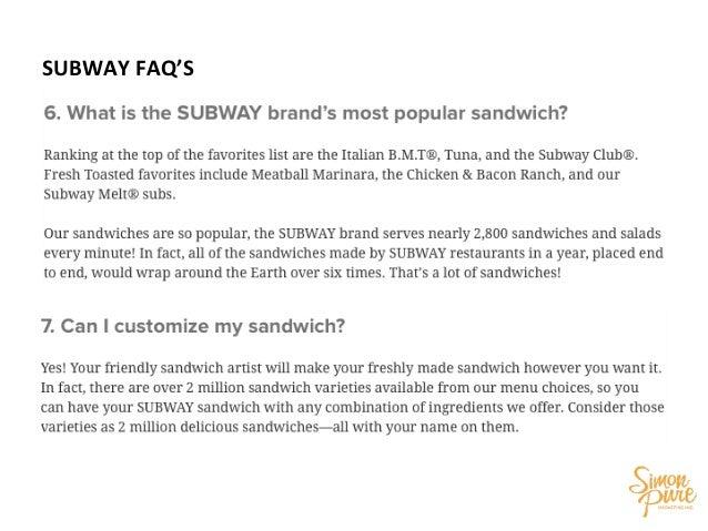 subway star wars training manual rh slideshare net Gas Station Operations Manual Restaurant Manual Sample